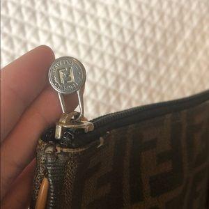 Fendi Bags - SOLD! FENDI Zucca Clutch